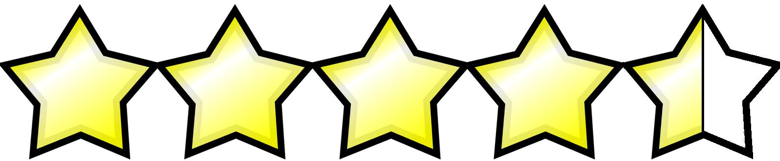 Resultado de imagem para 4,5 estrela